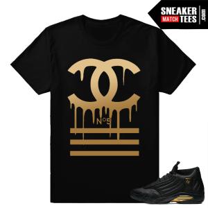 Sneaker Shirts to match Jordan 14 DMP Pack