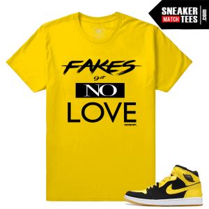 Jordan 1 New Love t shirt Match