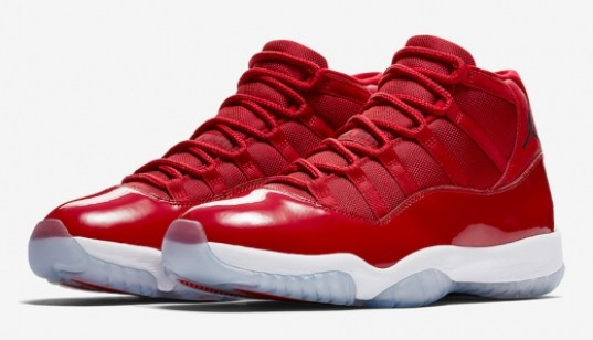 Jordan Release Dates Jordan 11 Win Like 96 Gym Red