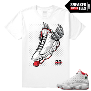 Jordan Retro 13 shirts match History of Flight