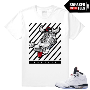 Air Jordan Cement 5 T shirt