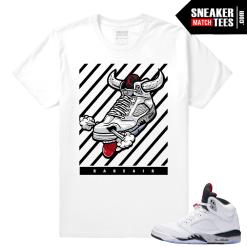 Air Jordan Cement 5 T shirt