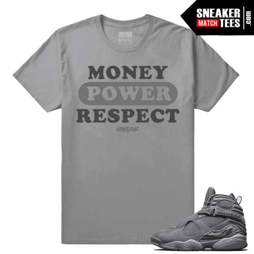 Jordan 8 Money Power Respect Sneaker Tee