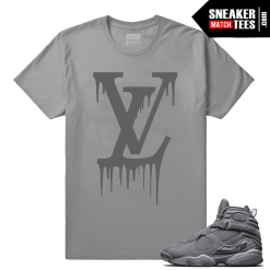 Jordan 8 Shirts Cool Grey