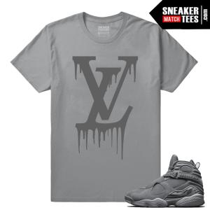 Jordan 8 Shirts Cool Grey