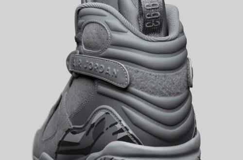 New Jordan Releases Jordan 8 Cool Grey