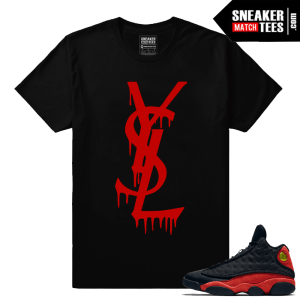 Shirts to match Jordan 13 Bred Retro 13s