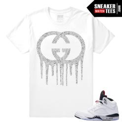 White Cement 5s t shirt