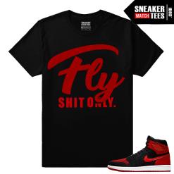 Air Jordan 1 Flyknit Banned Shirt