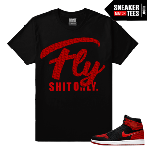 Air Jordan 1 Flyknit Banned Shirt