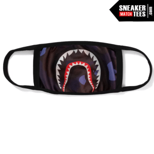 Bape Mask Purple Camo Shark
