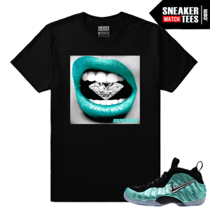 Foamposites Matching Island Green T shirt