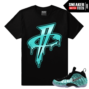Island Green Foams Matching Sneaker tees shirt