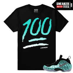 Island Green Shirts match Foamposites