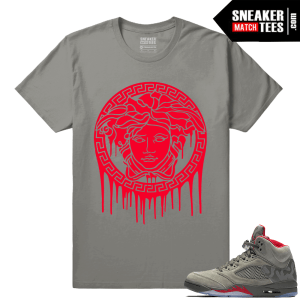 Jordan 5 Sneaker tees Camo