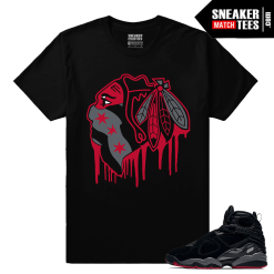 Jordan 8 Bred Shirt Collection