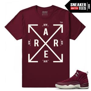 Air jordan Retro 12 Sneaker tees Bordeaux