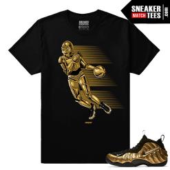Gold Foamposites C-3po Dash Black Sneaker tees