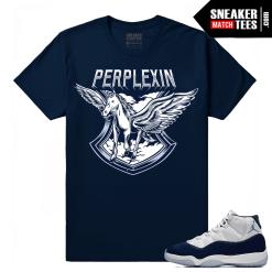 Jordan 11 Midnight Navy Sneaker tees Pegasus