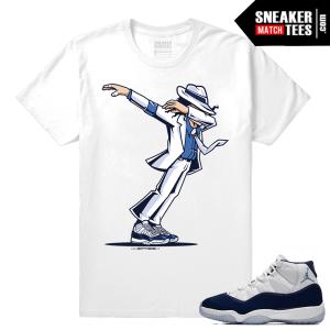 Jordan 11 Win Like 82 T shirt Dabbin MJ