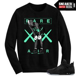 Kaws Jordan 4 black Crewneck Sweater MJ Kaws
