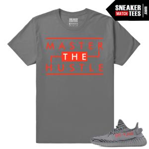 Yeezy Boost 350 V2 Beluga 2 Grey T shirt Master the Hustle