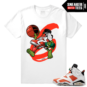 Gatorade 6s Sneaker tees White Air Gatorade 6s