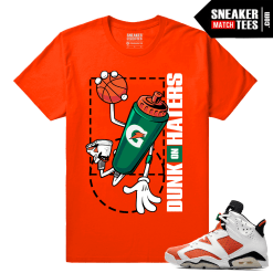 Gatorade 6s Sneaker tees shirt Rare Air Dunk On Haters