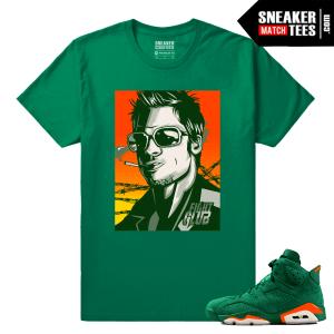 Gatorade 6s Green Sneaker tees Tyler Durden