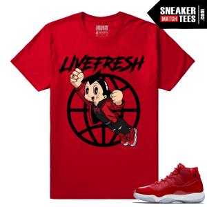 Jordan 11 Win Like 96 Sneaker tees Fresh Boy
