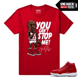 Jordan 11 Win Like 96 Sneaker tees MJ Unstoppable