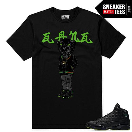 Altitude 13 Sneaker tees Black Gucci Gang