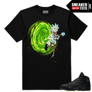 Altitude 13 Sneaker tees Black Live Fresh Rick