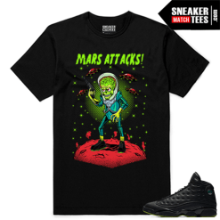 Altitude 13 Sneaker tees Black Mars Attack