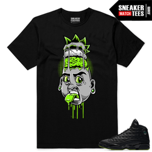 Altitude 13 Sneaker tees Black Punk Rocker