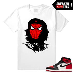 Jordan 1 Bred Toe Sneaker tees Che Spidey