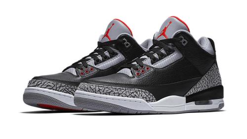 Jordan 3 Black Cement Sneaker Tees Match
