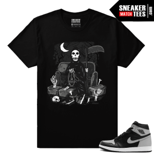 OG Shadow 1s matching Sneaker tee shirt