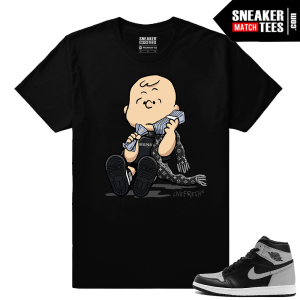 Jordan 1 OG Shadow Sneaker tees Match