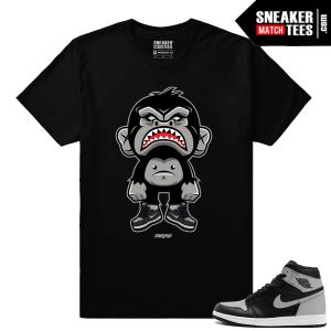 Jordan Retro 1 High OG Shadow Match T shirt