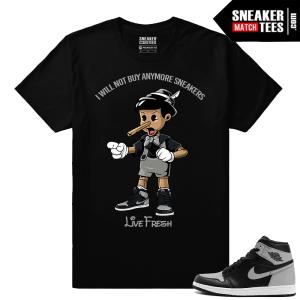 Shirt match Air Jordan 1 Retro OG Shadow