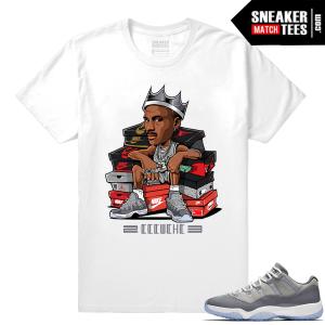 Air Jordan 11 Cool Grey Tee Shirt