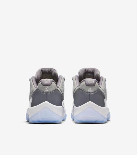 Cool Grey 11 low Jordans