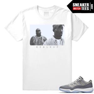 Shirt match Jordan 11 Cool Grey