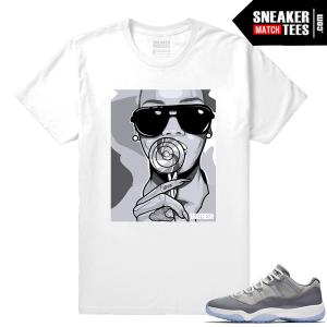 Shirt to match Cool Grey 11 low