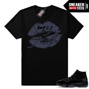 Air Jordan 11s clothing apparel shirts