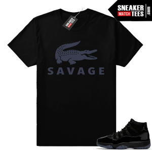 Jordan 11 Savage shirt
