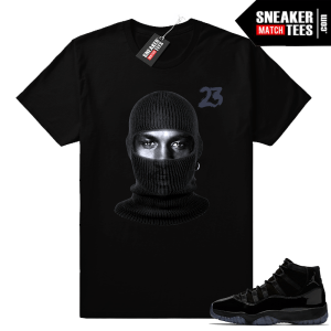 Jordan 11 matching shirt Cap and Gown