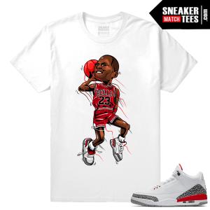 Jordan 3 Katrina Match Shirt