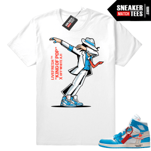 Air Jordan 1 OFF white tee shirt